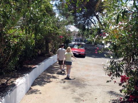 Debi and Steve in yards