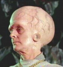 a Talosian, from Star Trek (Original Series, of course)