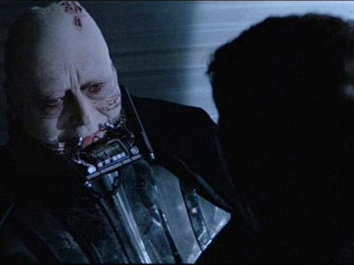 Darth Vader unmasked
