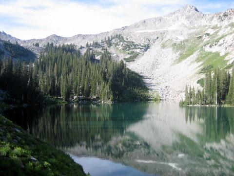 Red Pine Lake (the lower lake)