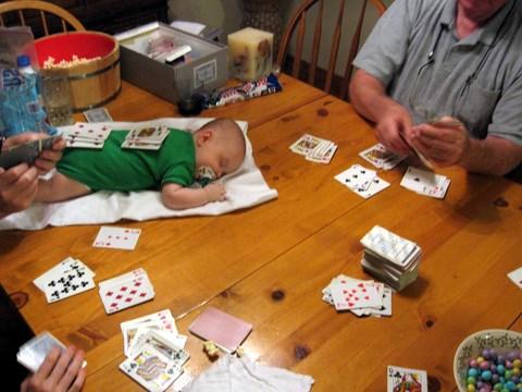 Toren as Card Table