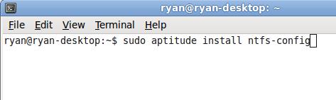automount NTFS - 01.4