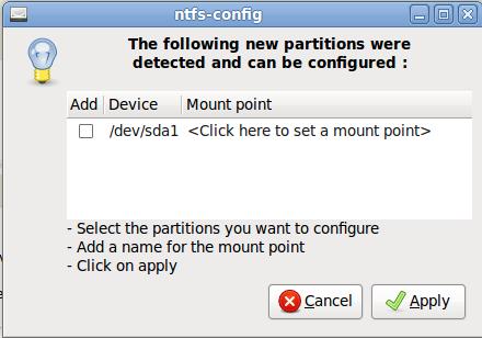 automount NTFS - 02