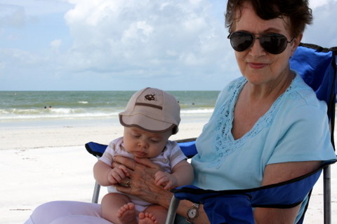 Toren at the beach2 9-13-2009 11-30-30 AM