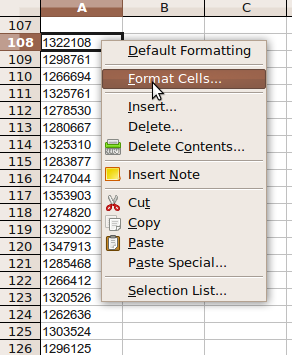 remove apostrophes before numbers in OpenOffice Calc – Ryan and Debi