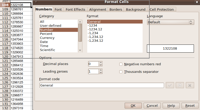 remove apostrophes before numbers in OpenOffice Calc – Ryan