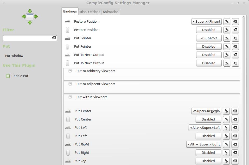 LinuxMint: Keyboard Shortcuts to Move Windows Between Monitors