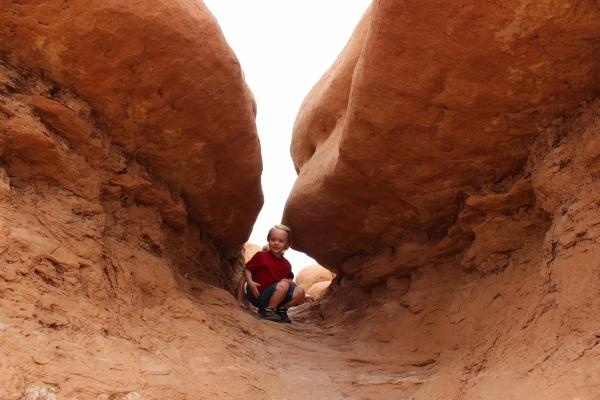 Another shot of Toren hiding among the rocks.
