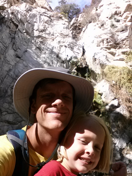 Toren and I at the Falls