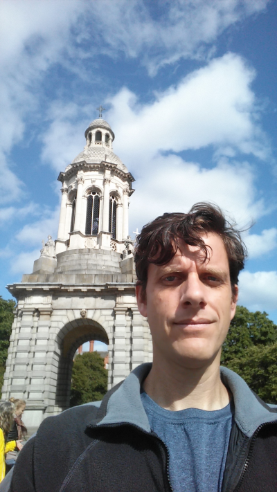 At Trinity College-Dublin.