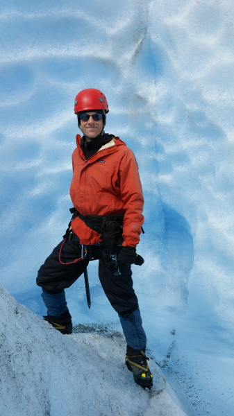 me in an ice canyon
