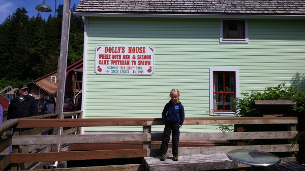 This is in the touristy section of Ketchikan where the brothels used to be.