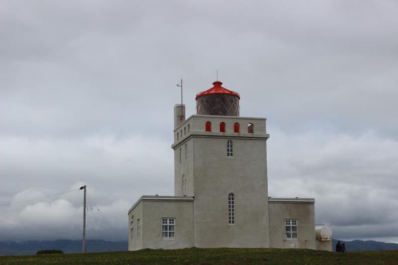 the lighthouse at Dyrholaey