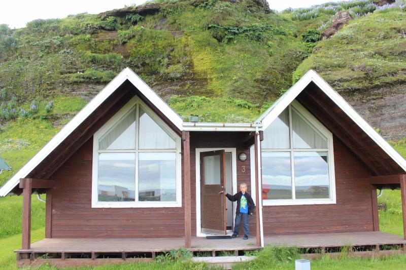 cabin in Vik